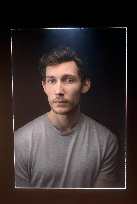 Portrait Image Latente Studio Evidences Invisibles </br>Support Numérique LEICA